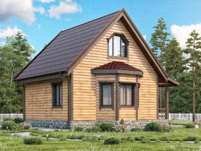 Проект 1 дом из бруса
