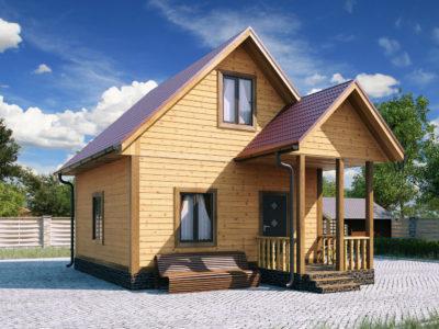 Проект 4 дом из бруса