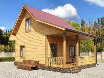 Проект 5 дом из бруса
