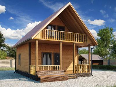 Проект 3 дом из бруса
