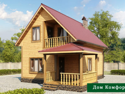 Проект 6 дом из бруса